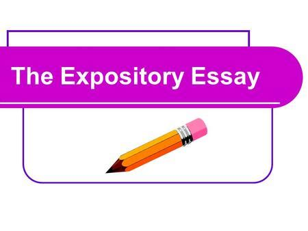 Free expository essay outline
